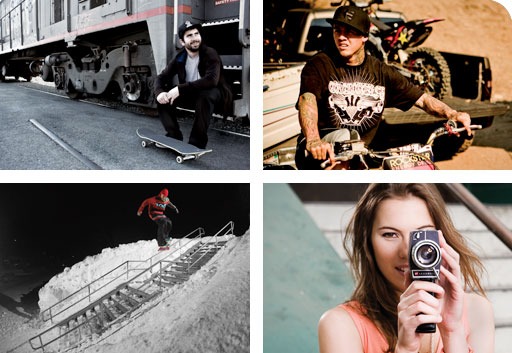 To Inspire youth through a passionate commitment to authentic action sports brands.